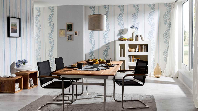 tapeta z modern kolekce primetime modr prou ek. Black Bedroom Furniture Sets. Home Design Ideas