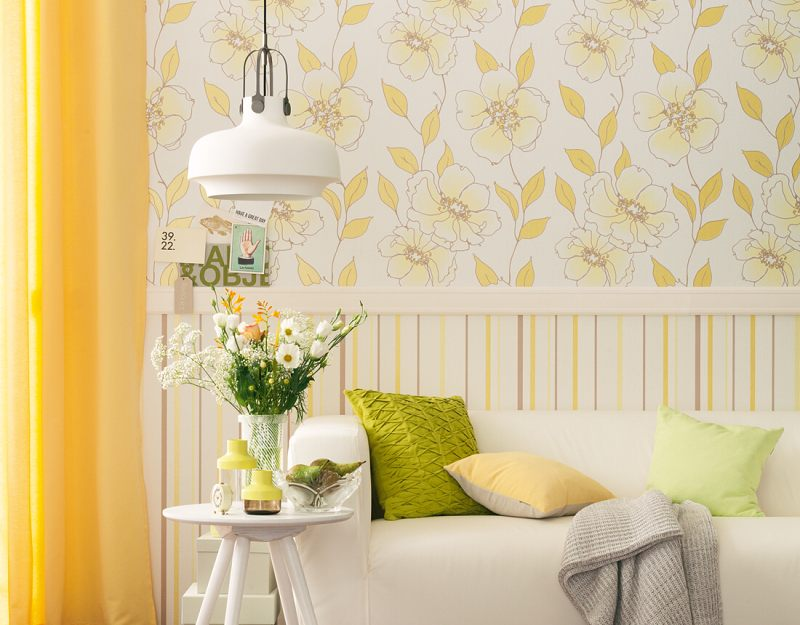 tapety sch ner wohnen 7 kv ty lut bytov tapety na. Black Bedroom Furniture Sets. Home Design Ideas