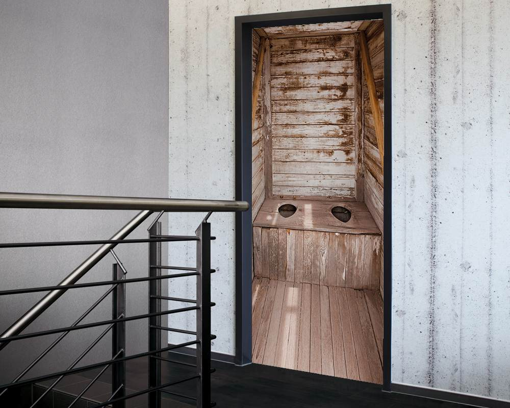Fólie na renovaci dveří Latrýna