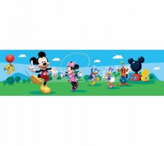 Samolepící dětské bordury Mickey Mouse Klubík