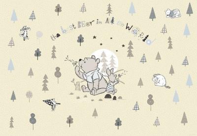 Dětská fototapeta Medvídek Pooh