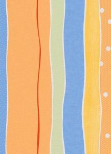 Dětské papírové tapety Lotta proužky modrá