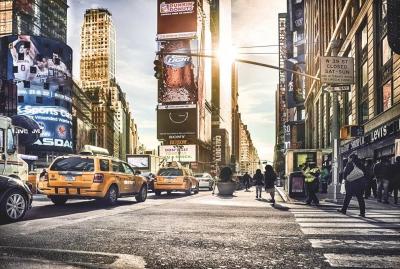 Fototapeta Vlies Times Square