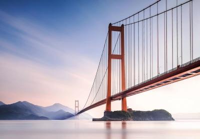 Fototapety na zeď vlies Most Xihou