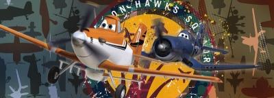 Dětské fototapety Letadla uskupení