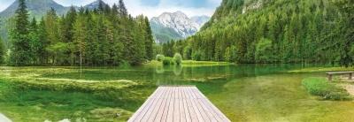 Fototapeta National Geographic Slovinsko zelené jezero Planšarsko