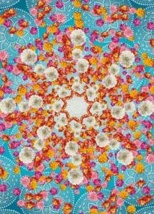 Fototapety Barevné květinové štěstí