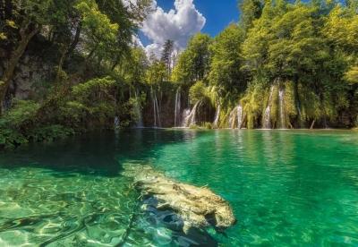 Fototapeta National Geographic Plitvická jezera