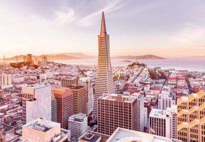 Fototapeta National Geographic ráno v San Francisku