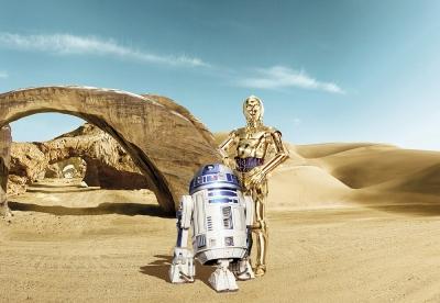 Fototapety Star Wars ztracení droidi