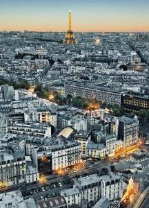 Fototapety Výhled na Paříž