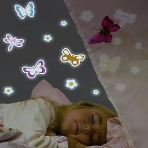 Svítící dětské dekorace Motýlci