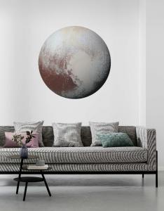 Samolepící fototapeta kruh - Planeta Pluto
