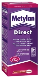 Lepidlo na vliesové tapety Metylan Direct