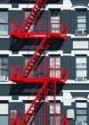 Fototapety na zeď Požární schodiště