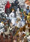 Fototapeta Star Wars - Hvězdné války, Classic Movie kresba