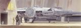 Fototapeta Star Wars Classic Loď Millenium Falcon, hvězdné války