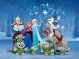 Dětská vlies fototapeta Frozen
