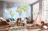 Fototapeta Vlies Mapa světa