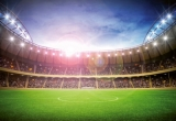 Fototapety Wizard fotbalový stadion v noci