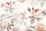Fototapeta Vlies La Maison, akvarel růže