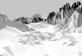 Fototapeta Led a sníh