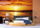 Fototapeta západ slunce nad mořem