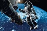 Fototapety Gravitace kosmonaut