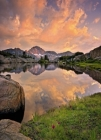Fototapety Horské jezero