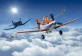 Dětské fototapety Letadla nad mraky