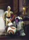 Fototapety Star Wars 4 droidi