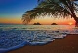 Fototapety Vliesové Východ slunce nad Pacifikem
