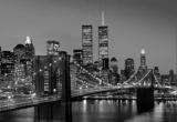 Fototapety Vliesové Manhattan v noci