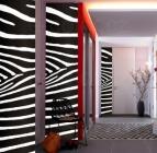 Samolepící fototapety Vzor zebra