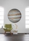 Samolepící fototapeta kruh - Planeta Jupiter