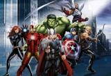 Dětská fototapeta Marvel Avengers hrdinové vlies