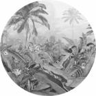 Samolepící fototapeta kruh - Mother Nature - Duch Amazonie