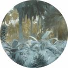 Samolepící fototapeta kruh - Mother Nature - Exotic Jungle