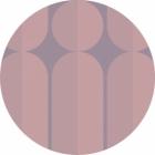 Samolepící fototapeta kruh - Bauhaus Fusion