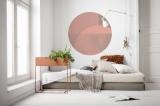 Samolepící fototapeta kruh - Bauhaus Roselux