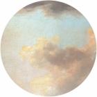 Samolepící fototapeta kruh - History of Arts - Mraky