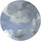 Samolepící fototapeta kruh - History of Arts - Nebe