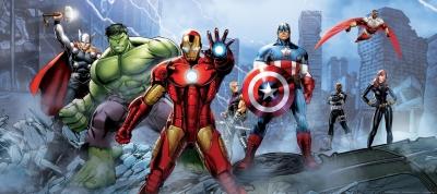 Fototapeta Avengers hrdinové