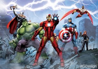 Fototapeta Avengers papír