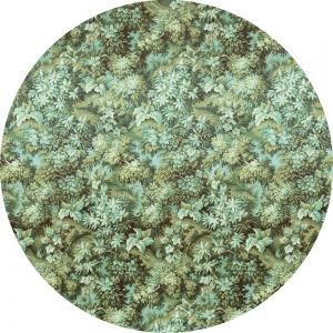 Samolepící fototapeta kruh - Mother Nature - Zeleň