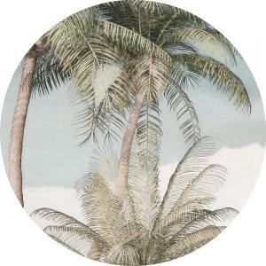Samolepící fototapeta kruh - Mother Nature - Ticho