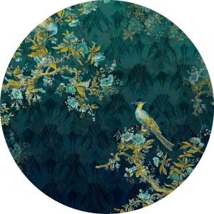 Samolepící fototapeta kruh - History of Arts - Majestátnost