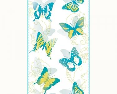 Samolepící tapety motýli modrá