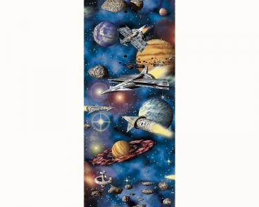 Samolepící tapety dětské vesmír