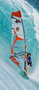 Fólie na renovaci dveří Windsurfing
